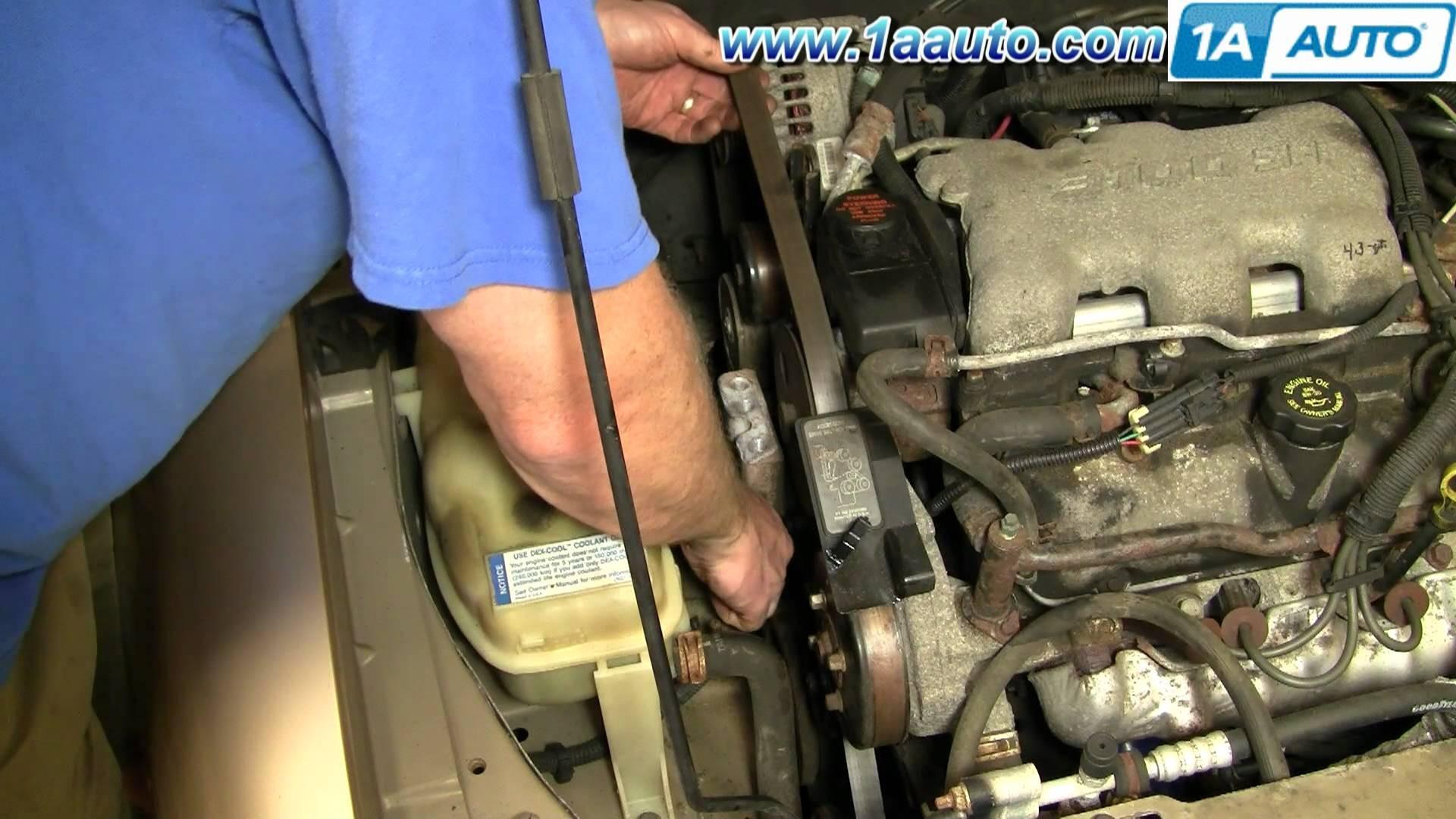 97 buick lesabre serpentine belt diagram bohr for calcium 1999 chevy lumina engine the original mechanic 3