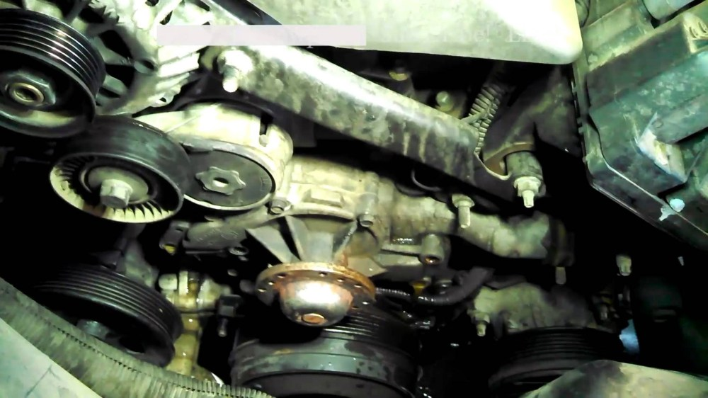 medium resolution of 1999 chevy lumina engine diagram water pump replacement 1998 chevrolet lumina 3 8l v6 install remove