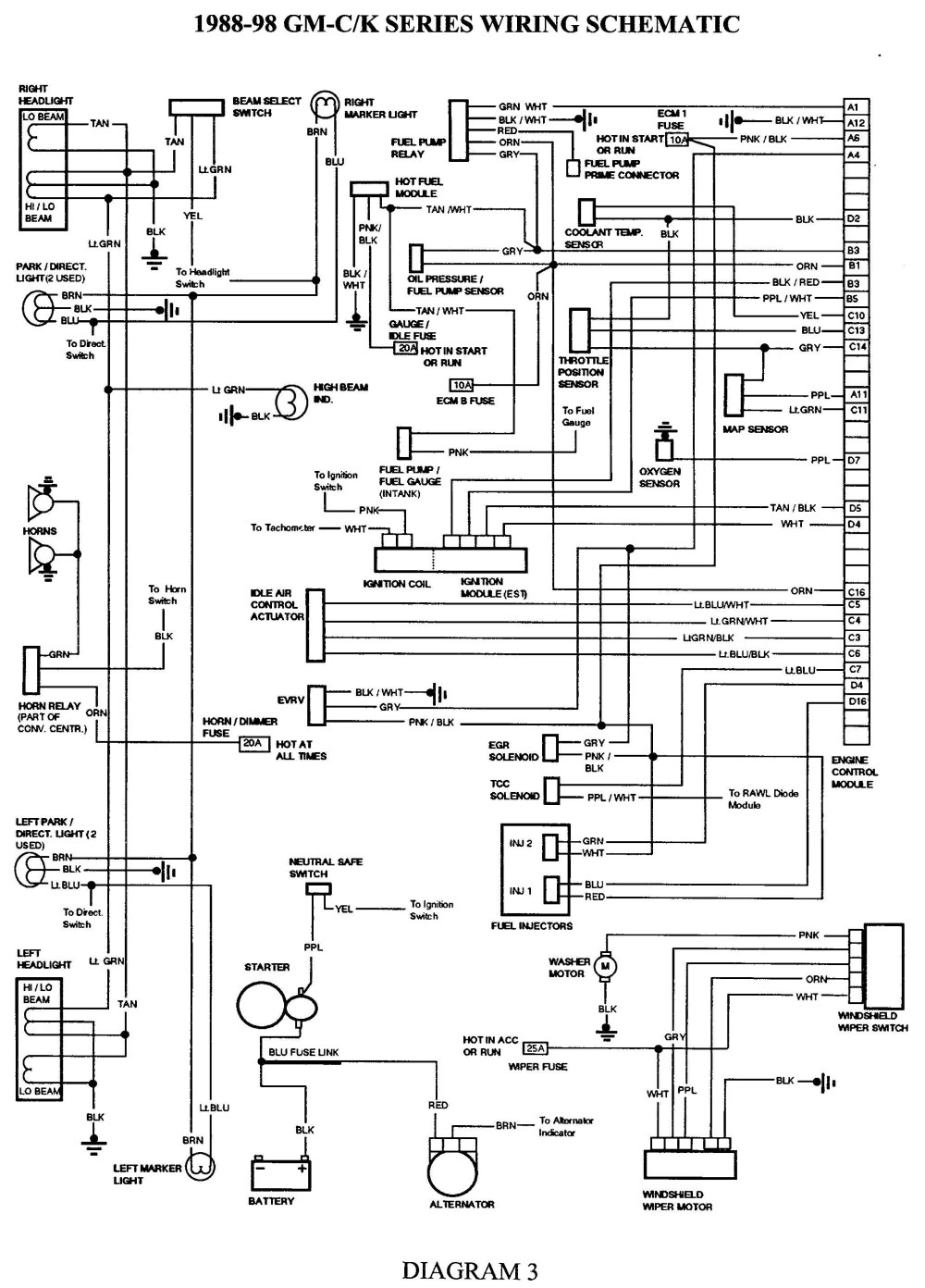 medium resolution of 1999 lincoln town car engine diagram 98 gmc sierra headlight wiring diagram circuit diagrams image of