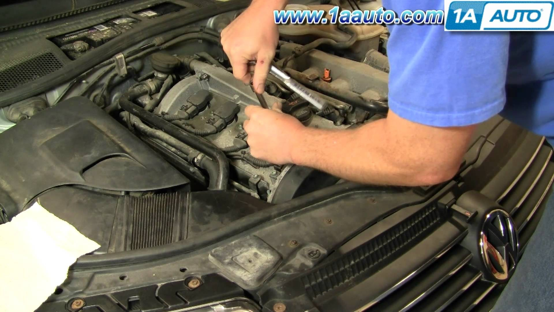1999 vw passat engine diagram double pole socket wiring 1 8t best library how to install replace spark plugs volkswagen 1aauto