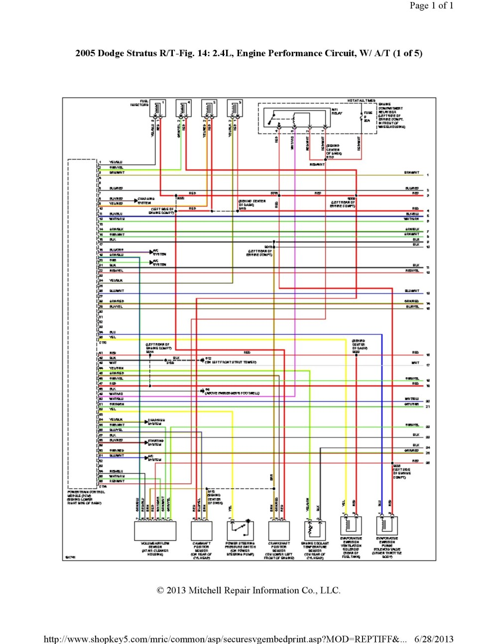 medium resolution of 2000 dodge stratus engine wiring diagram