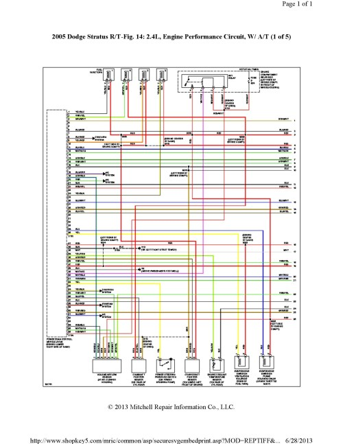 small resolution of 2000 dodge stratus engine wiring diagram