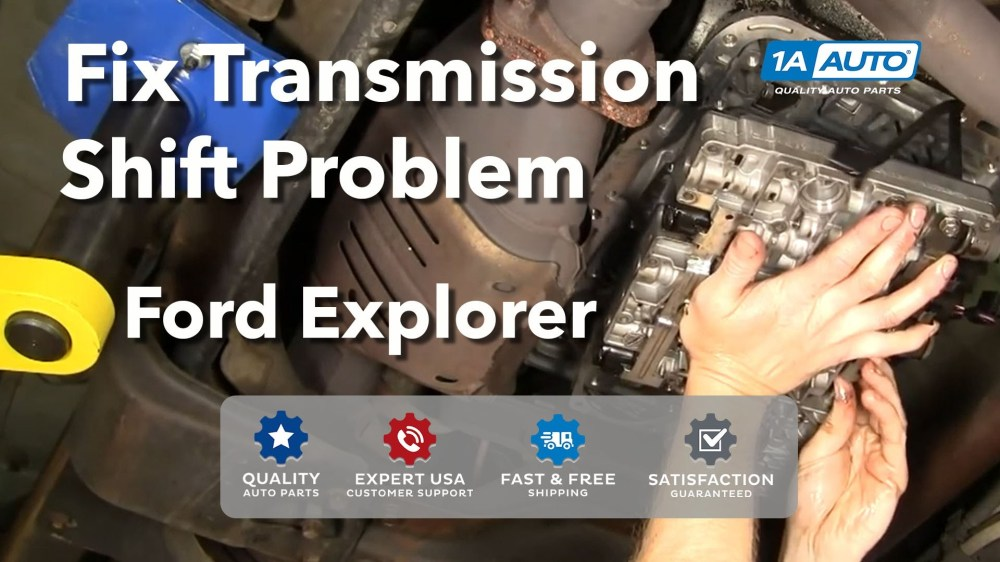 medium resolution of 2000 ford expedition engine diagram auto repair fix transmission shift problem ford 5r55e explorer buy
