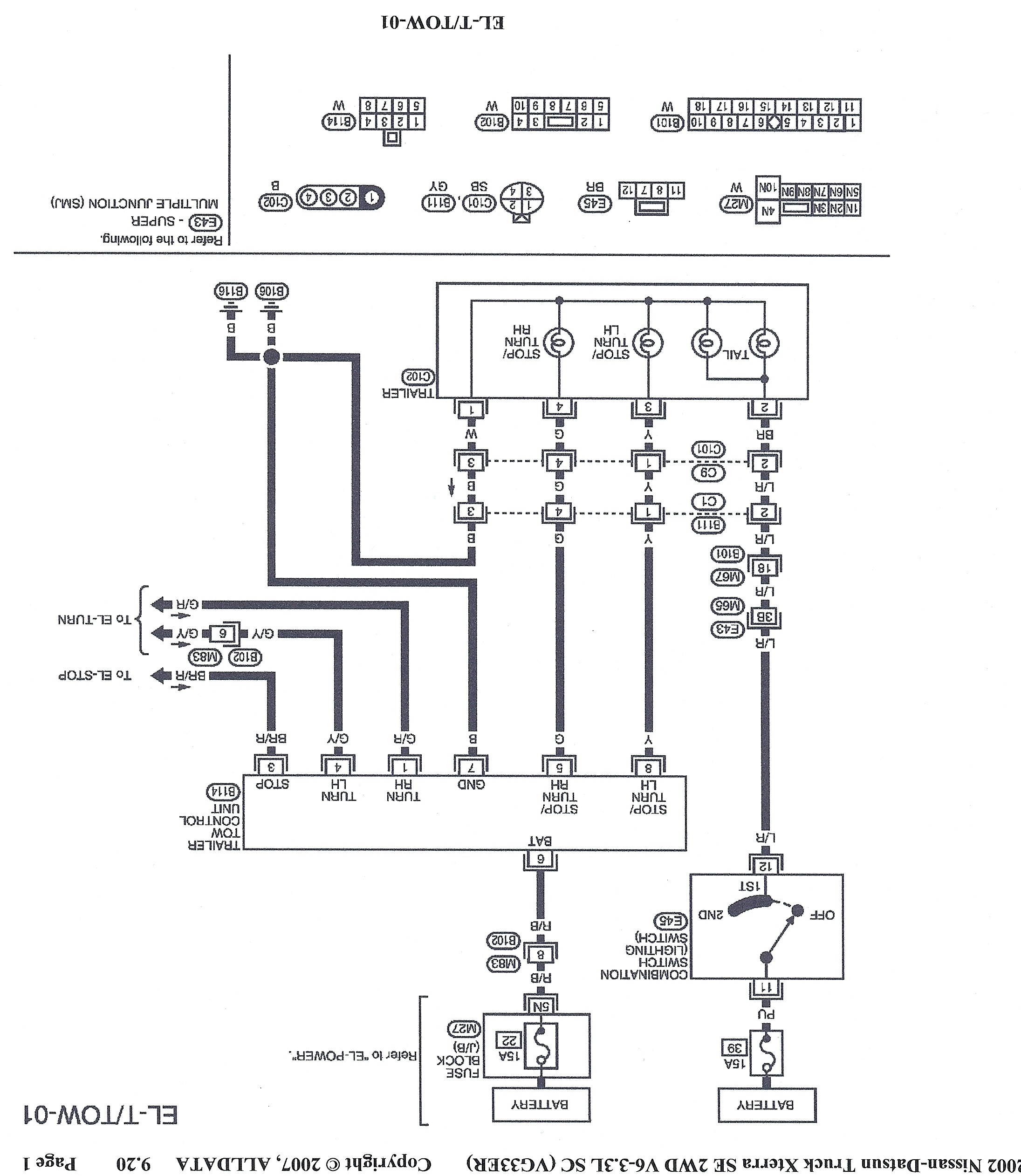 2000 Nissan Frontier Engine Diagram Wiring Diagram