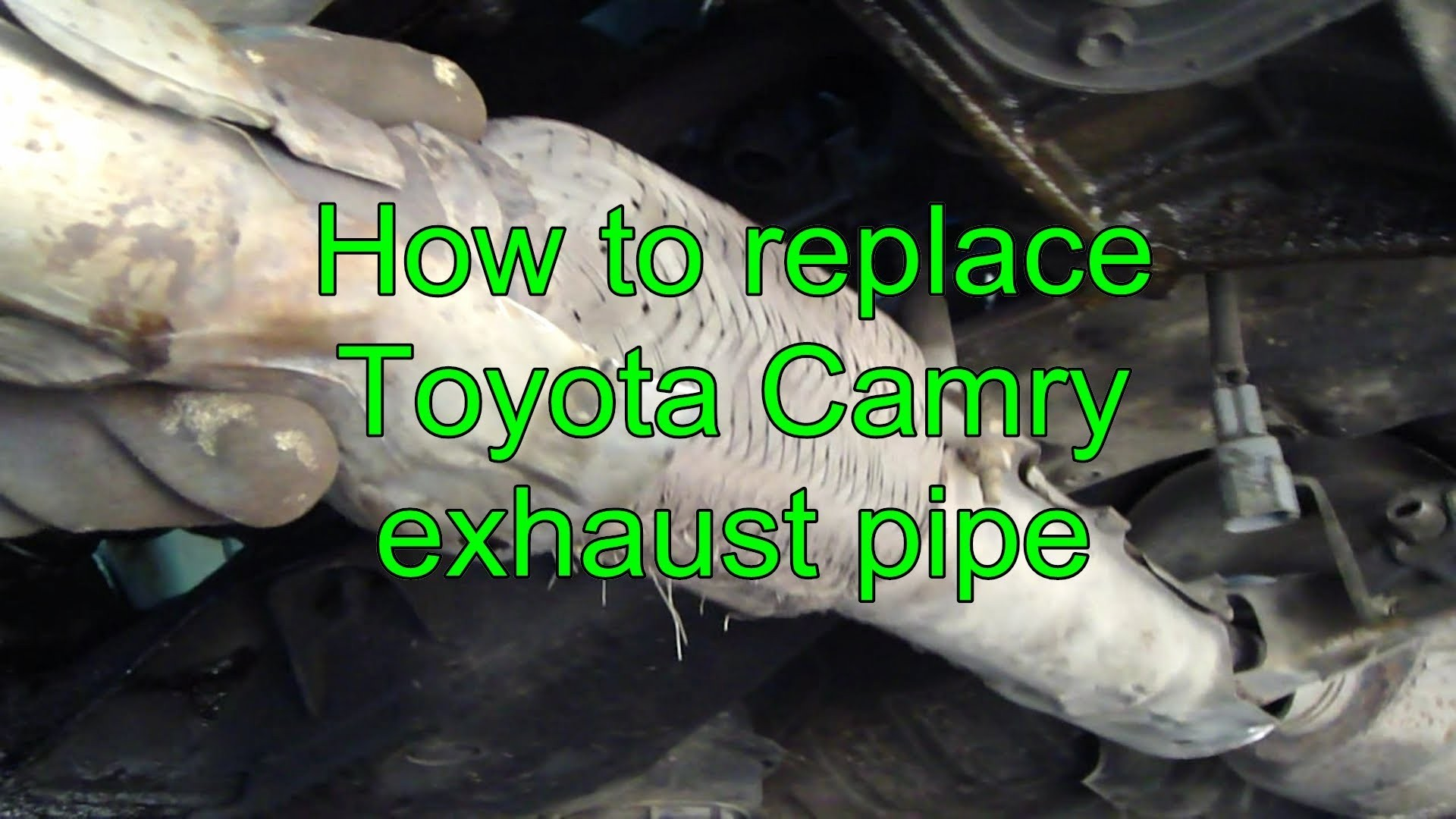 hight resolution of 2000 toyota camry engine diagram how to replace toyota camry exhaust pipe years 1992 to 2002