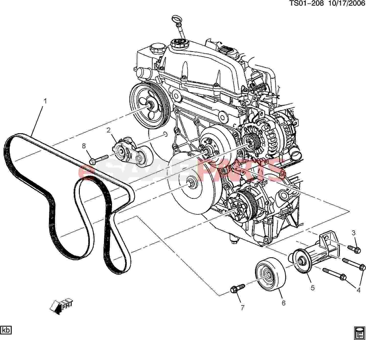 2006 Toyota Corolla Engine Diagram / Replace 2003 2008