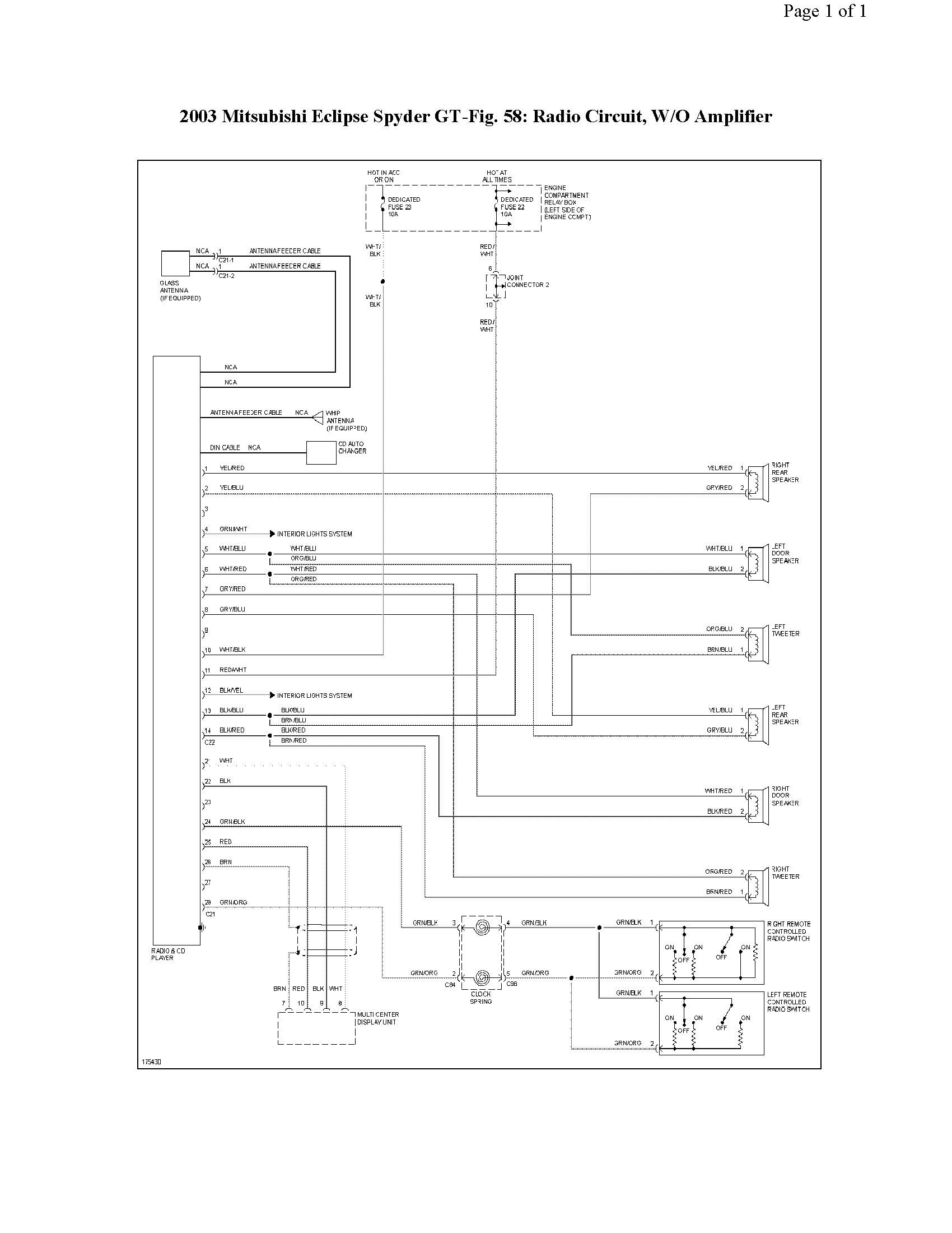 2001 mitsubishi eclipse radio wiring diagram 2000 volvo v70 engine library