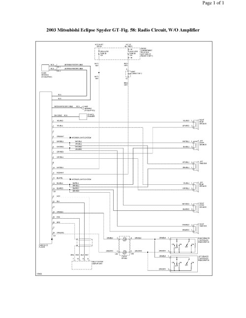 small resolution of 2001 mitsubishi eclipse engine diagram wiring diagram moreover 2001 mitsubishi eclipse radio wiring diagram of 2001
