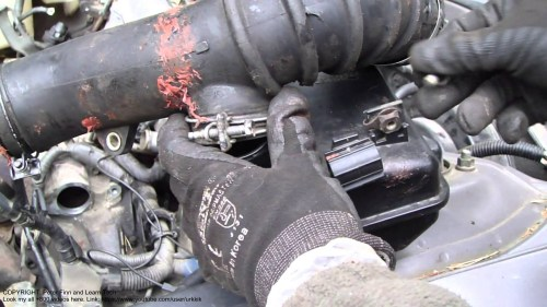 small resolution of 2001 toyota camry 4 cylinder engine diagram how to disassemble intake hose toyota camry 2 2