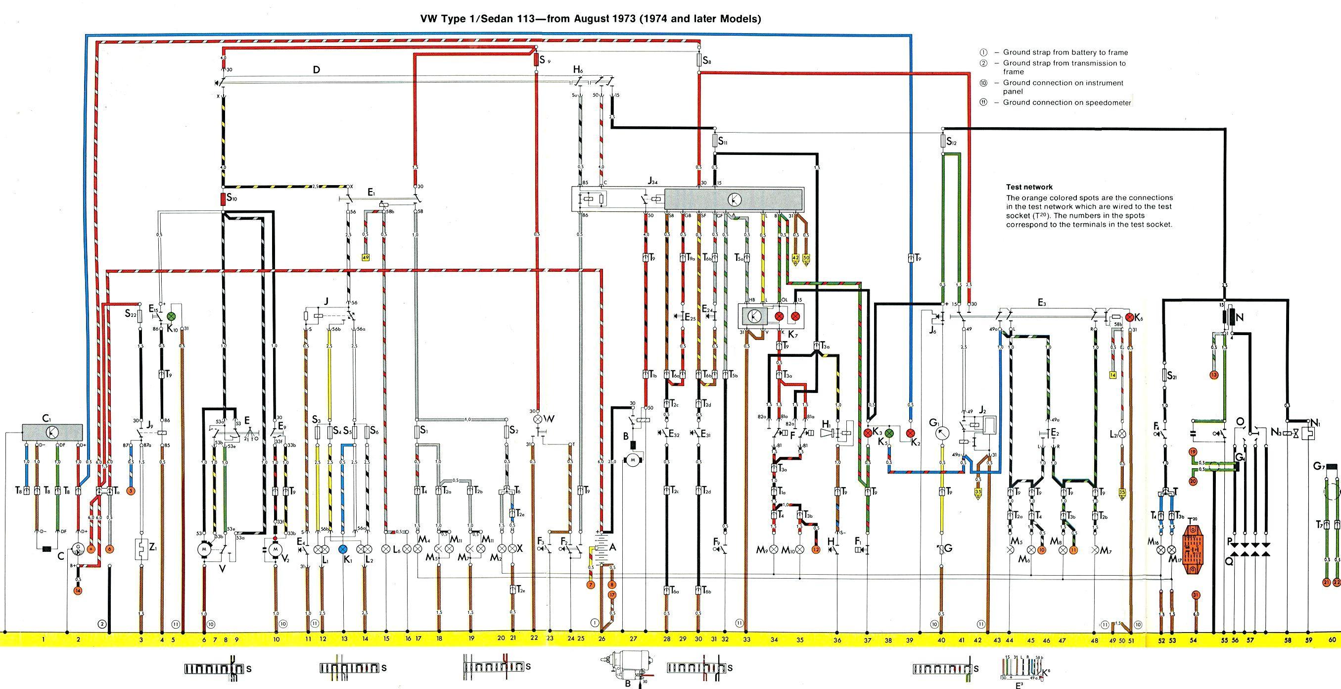 vw engine wiring diagram