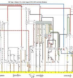 74 vw bug alternator wiring as well as vw beetle engine tin diagrambug alternator wiring diagram [ 2711 x 1392 Pixel ]