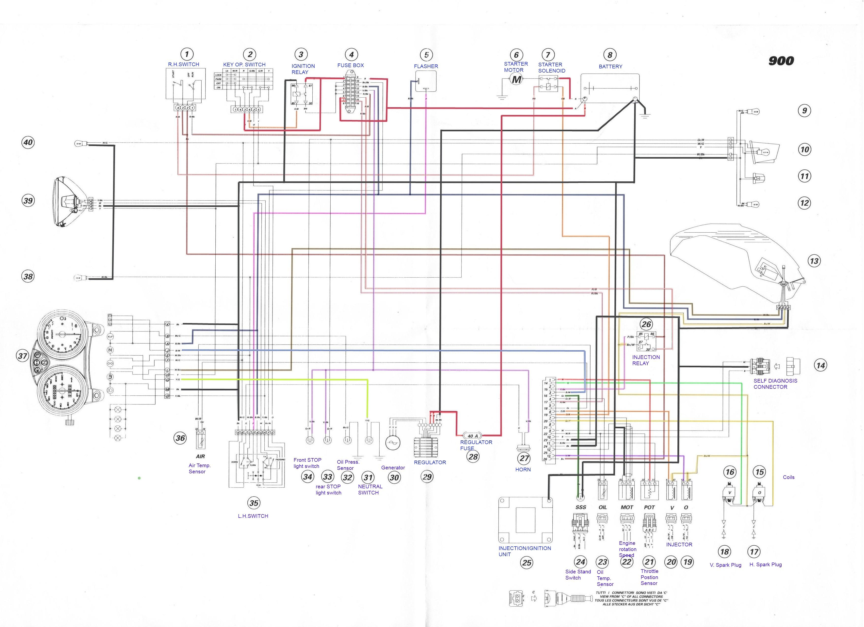ducati 750 paso wiring diagram wiring diagram rh vw25 vom winnenthal de
