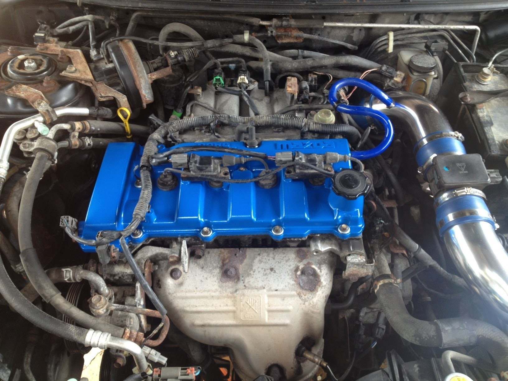 hight resolution of 2002 mazda protege5 engine diagram mazda protege timing belt water pump how to of 2002 mazda