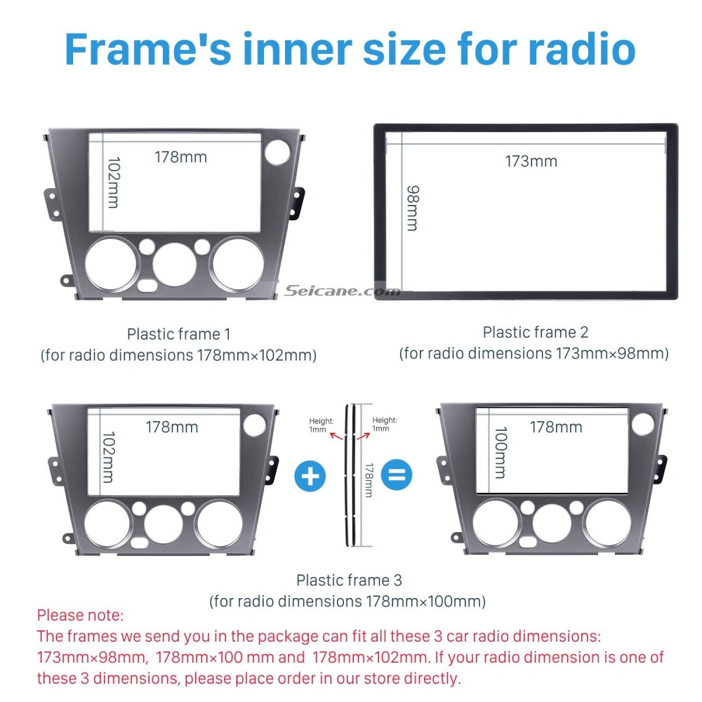 medium resolution of 2002 subaru outback parts diagram 2din car radio fascia for 2005 2009 subaru legacy outback left