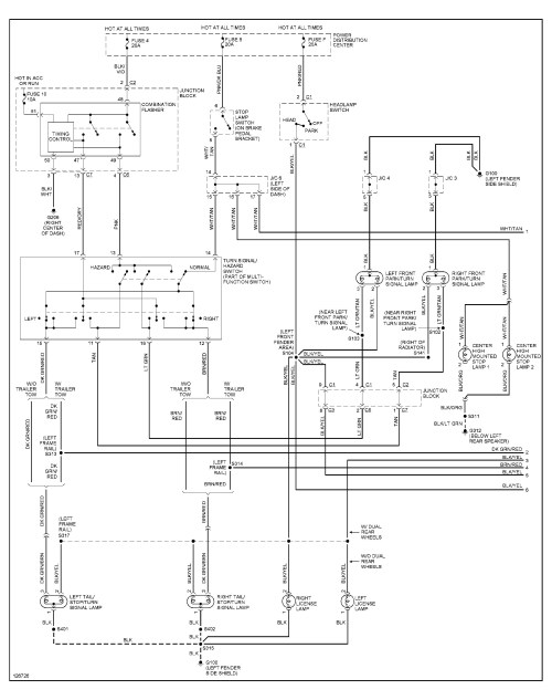 small resolution of 2003 dodge ram tail light wiring diagram simple wiring diagram schema basic tail light wiring chevy 1989 dodge truck tail light wiring
