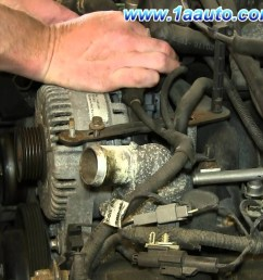 2003 ford explorer sport trac engine diagram how to install replace engine alternator 4 6l v8 [ 1920 x 1080 Pixel ]