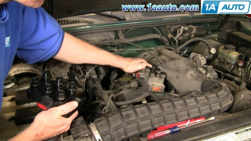 small resolution of 2003 ford explorer sport trac engine diagram how to install replace ignition coil ford explorer mercury