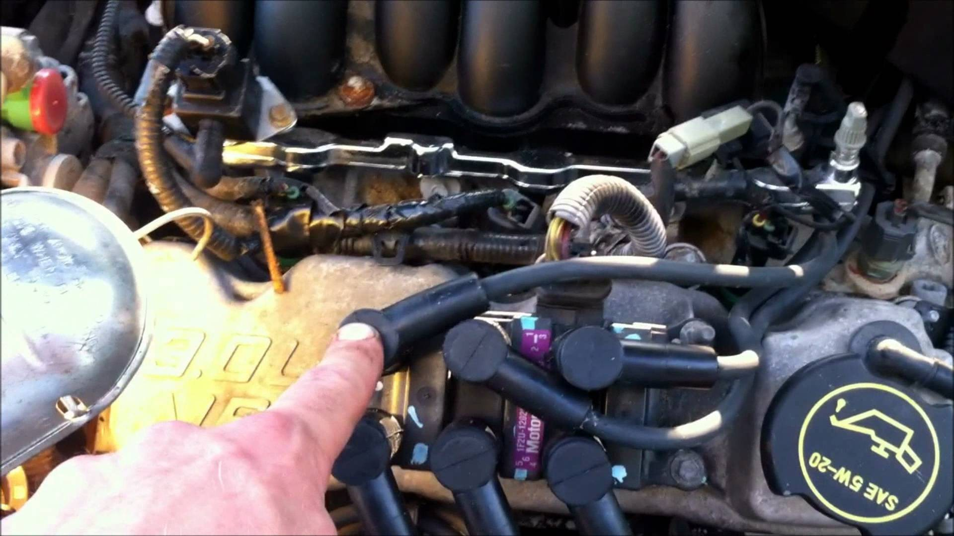 hight resolution of 2003 ford taurus engine hose diagram 2003 ford taurus spark plug and wire replacement of 2003
