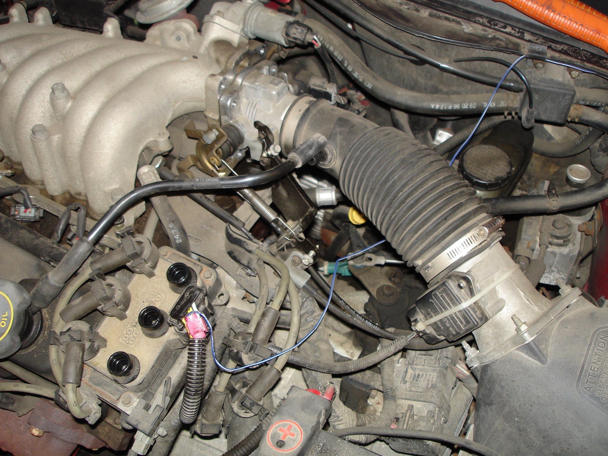 hight resolution of 2003 ford taurus engine hose diagram replace a camshaft position sensor 1997 ford taurus of 2003