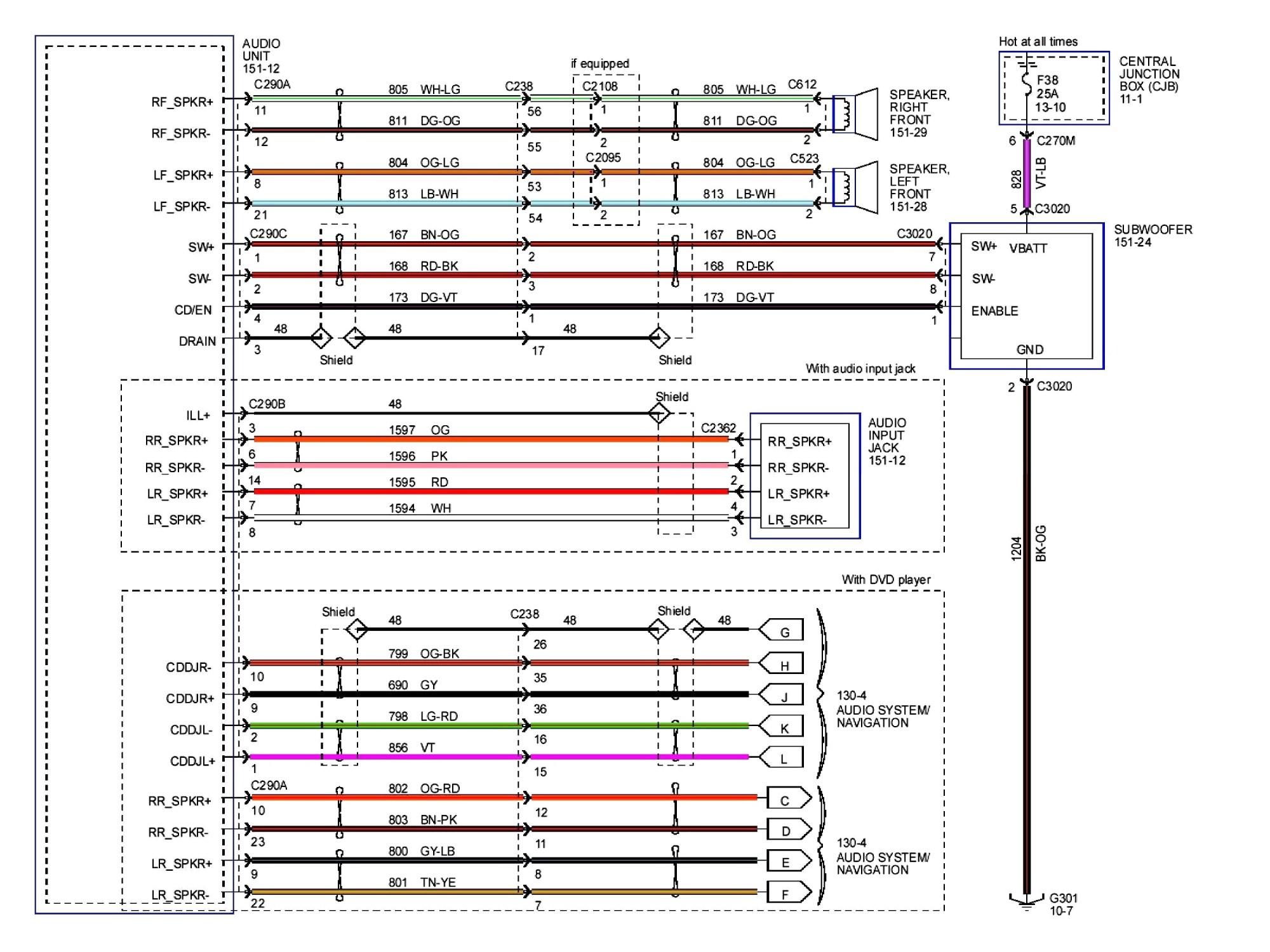 hight resolution of 2003 ford taurus radio wiring diagram fordger wiring diagram polaris rh detoxicrecenze com