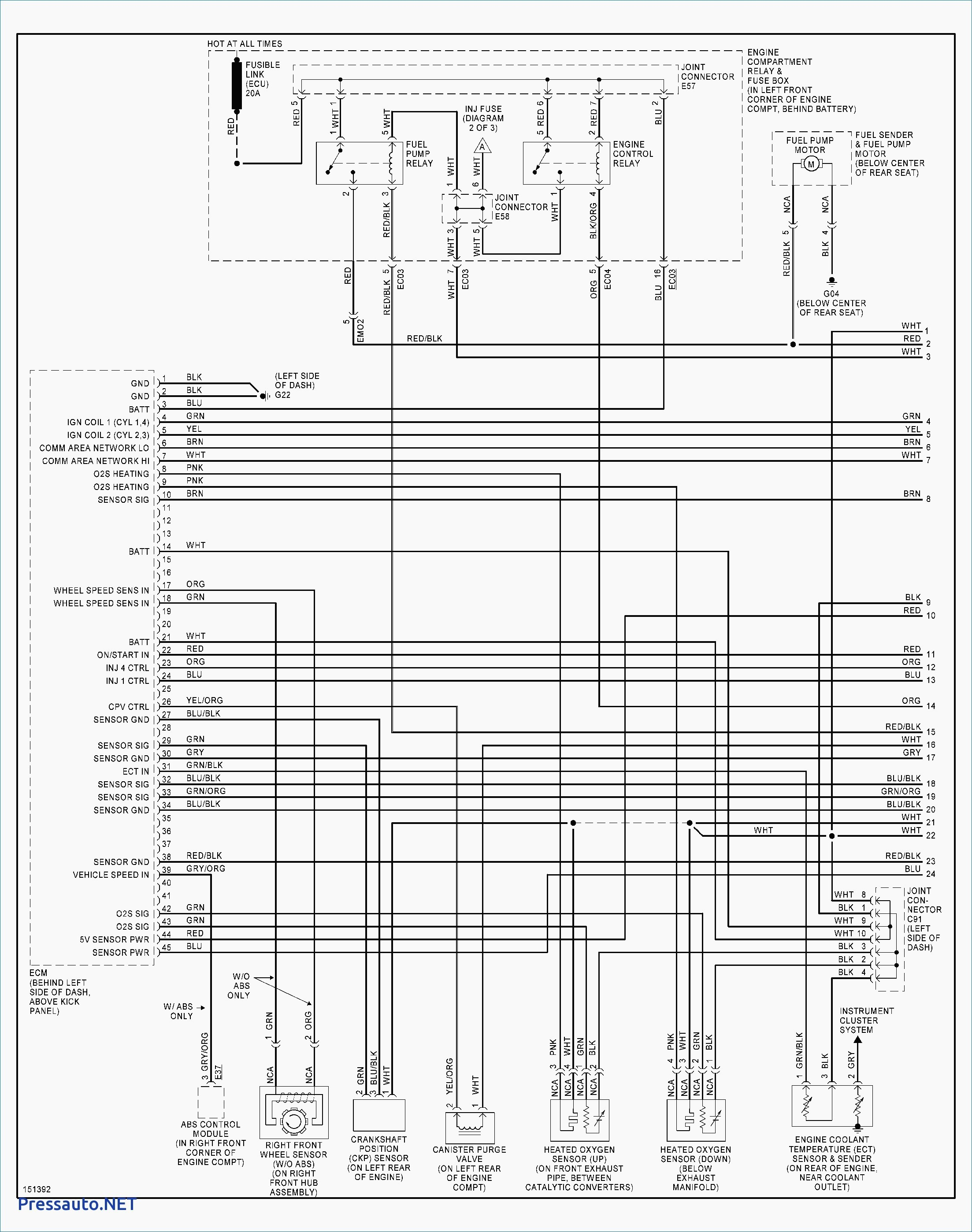 2004 hyundai santa fe wiring diagram ge ecm motor trailer best site harness