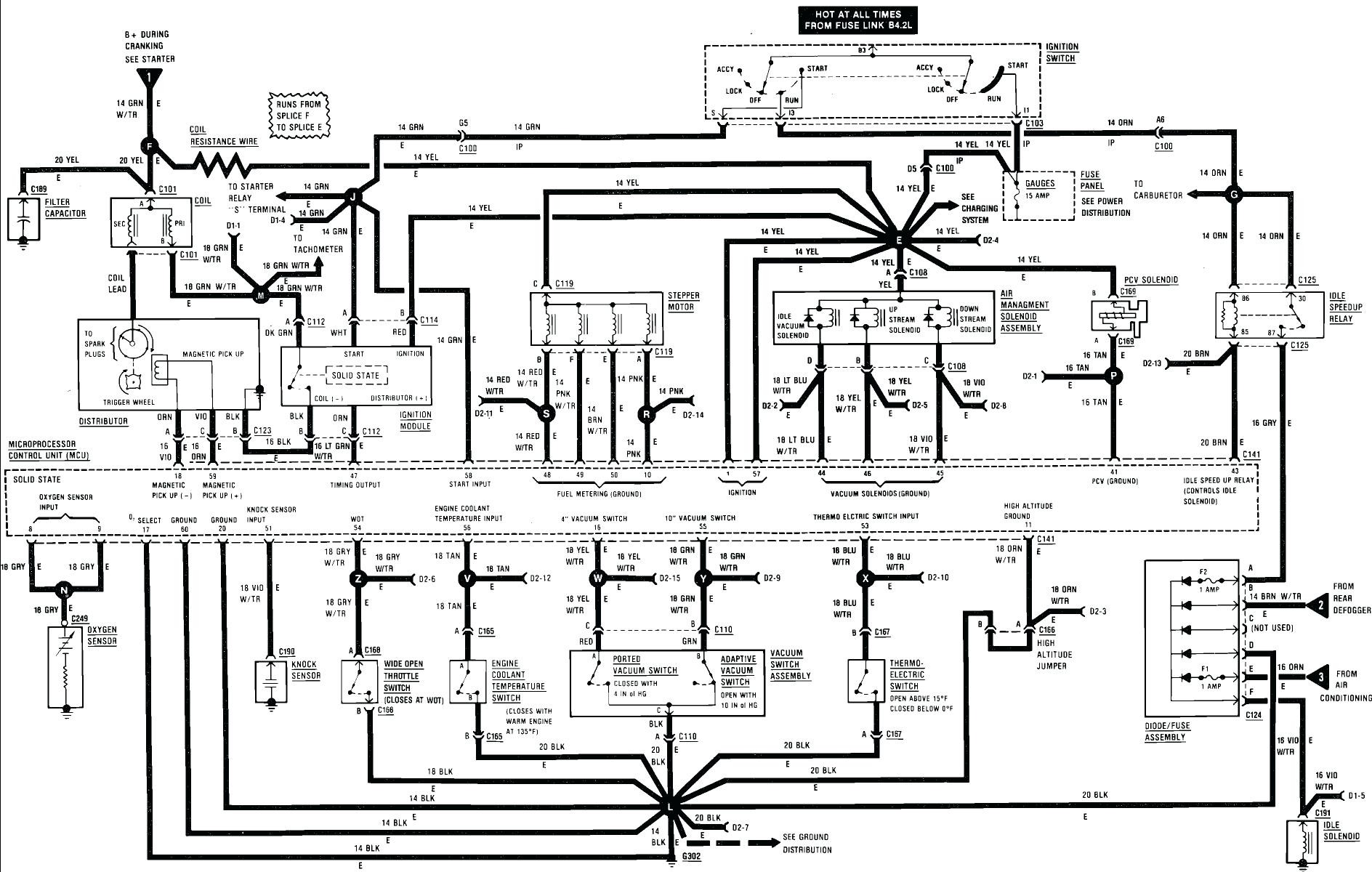 1987 wrangler wiring diagram jeep