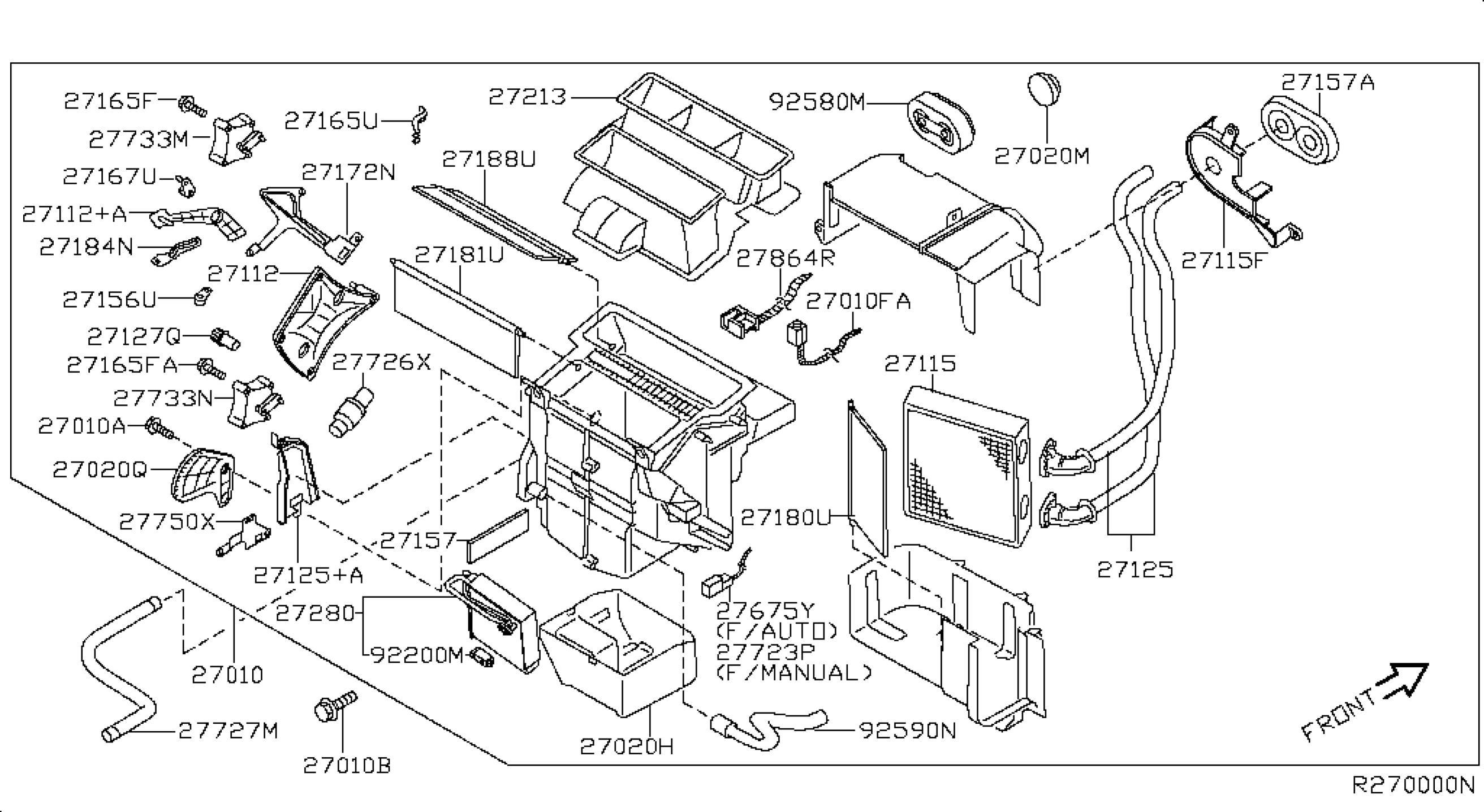 Nissan Frontier Parts Diagram