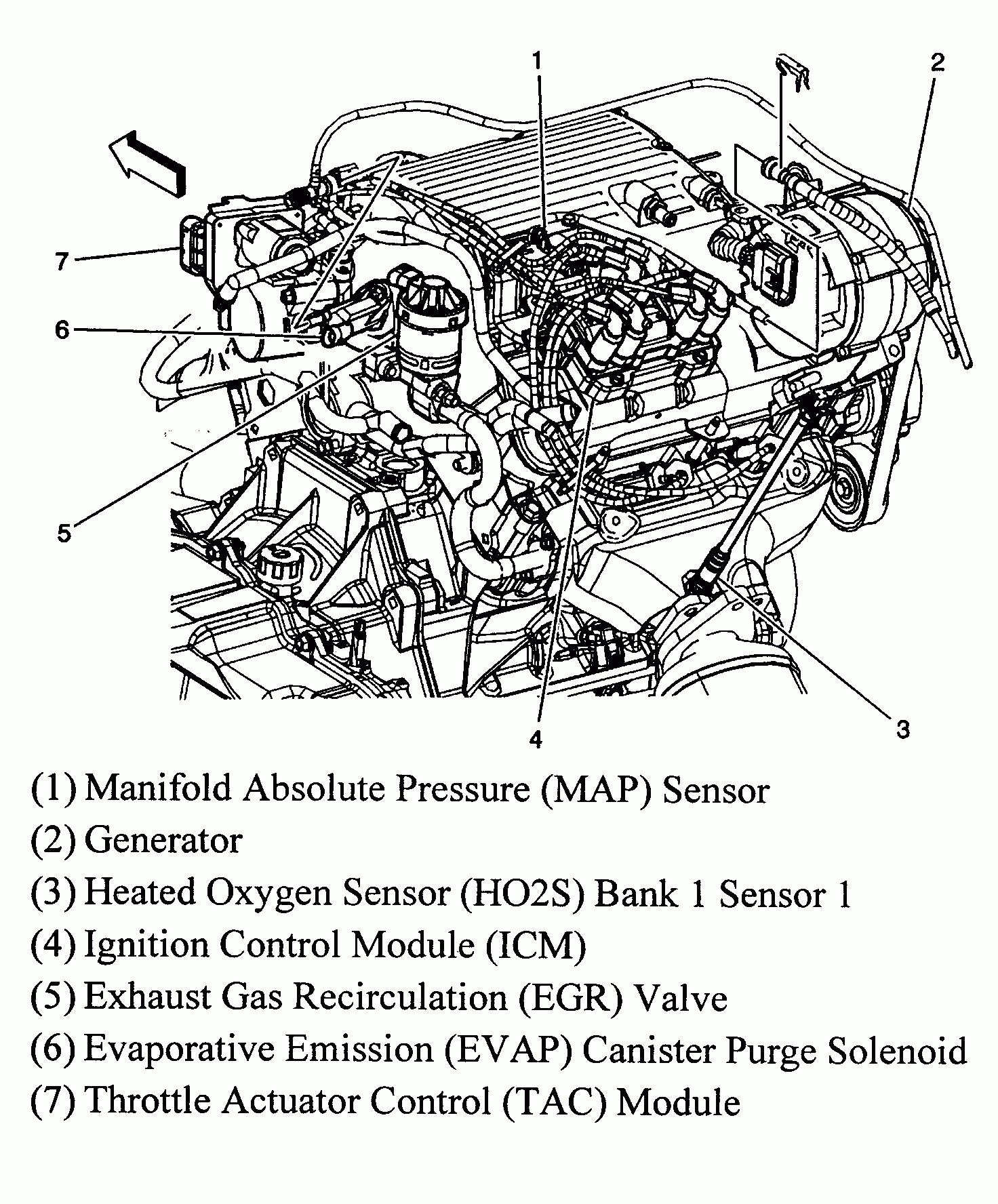 Pontiac Grand Prix Belt Diagram