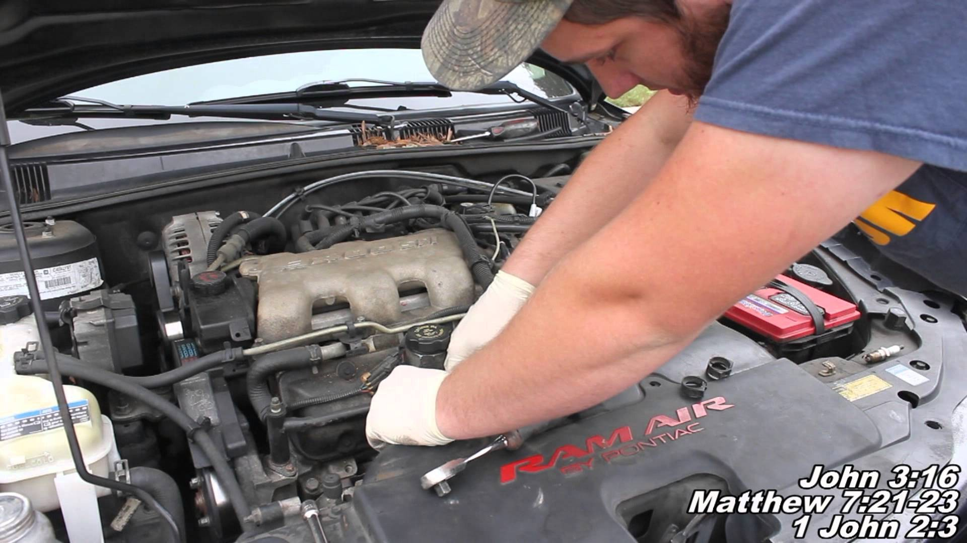 hight resolution of 2006 pontiac grand prix engine diagram spark plug wires remove replace