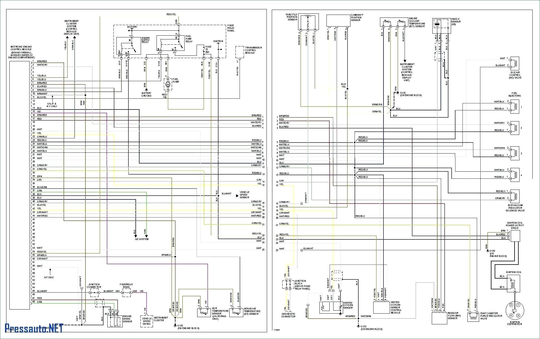 Vw Eurovan Fuse Box Diagram