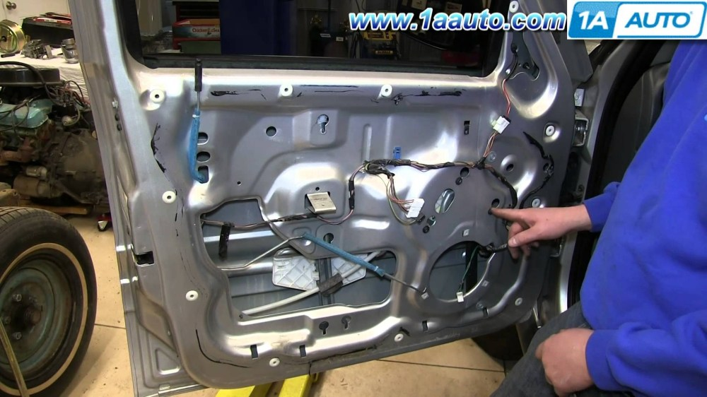 medium resolution of 2007 jeep commander engine diagram how to install replace front power window regulator 2002 07 jeep