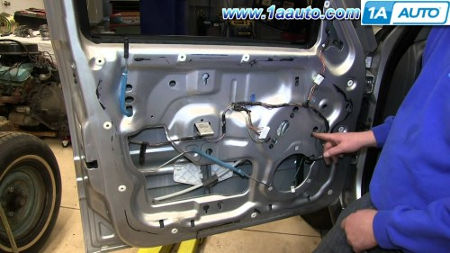 small resolution of 2007 jeep commander engine diagram how to install replace front power window regulator 2002 07 jeep