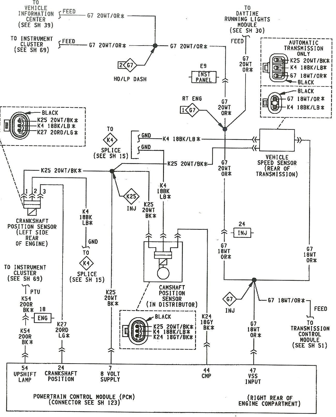 2007 jeep grand cherokee wiring diagram 8 pin usb engine 1992