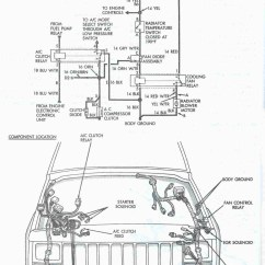 1993 Jeep Cherokee Radio Wiring Diagram A Light Switch From An Outlet Grand Engine Library