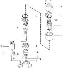 3 liter mercruiser engine diagram starter motor for mercruiser 7 4l bravo i ii iii engine [ 1739 x 2498 Pixel ]