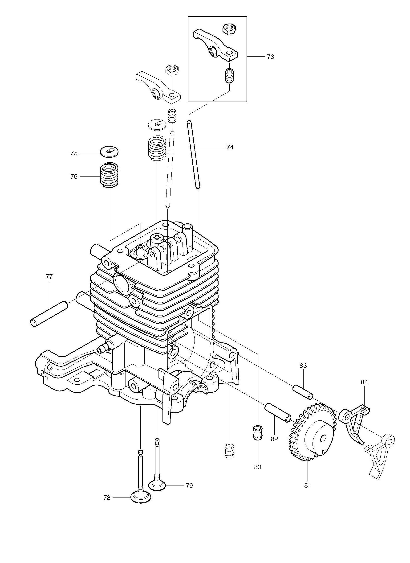 4 Stroke Petrol Engine Diagram