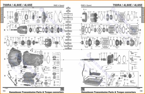 small resolution of 4r100 transmission parts breakdown
