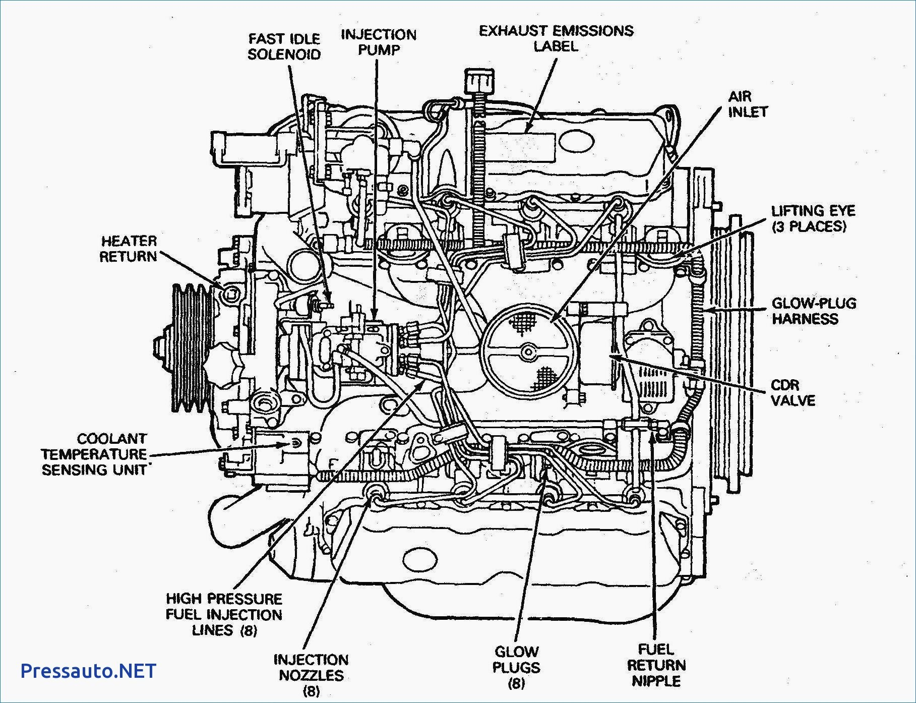 Ford 6 0sel Engine Diagram
