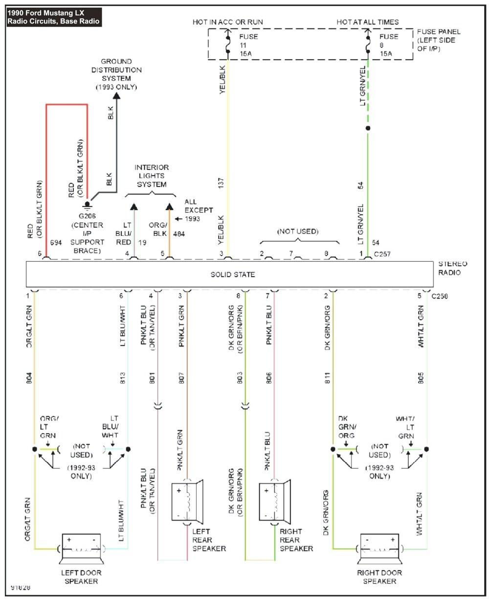 medium resolution of 1993 mustang wiring diagram pdf wiring diagram basic 1993 mustang wiring diagram pdf