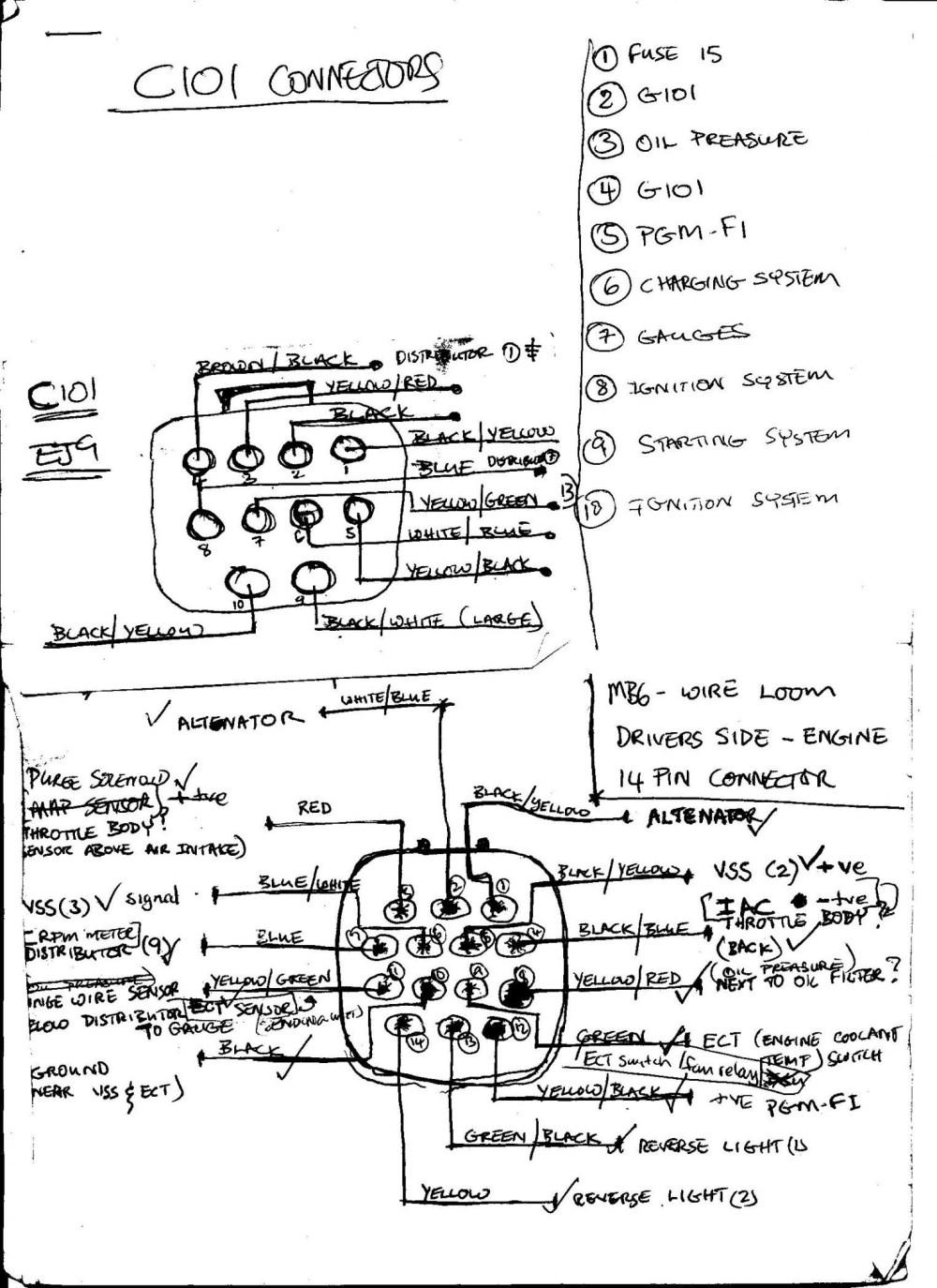 medium resolution of wiring diagram additionally 2007 honda cr v 98 honda civic engine diagram