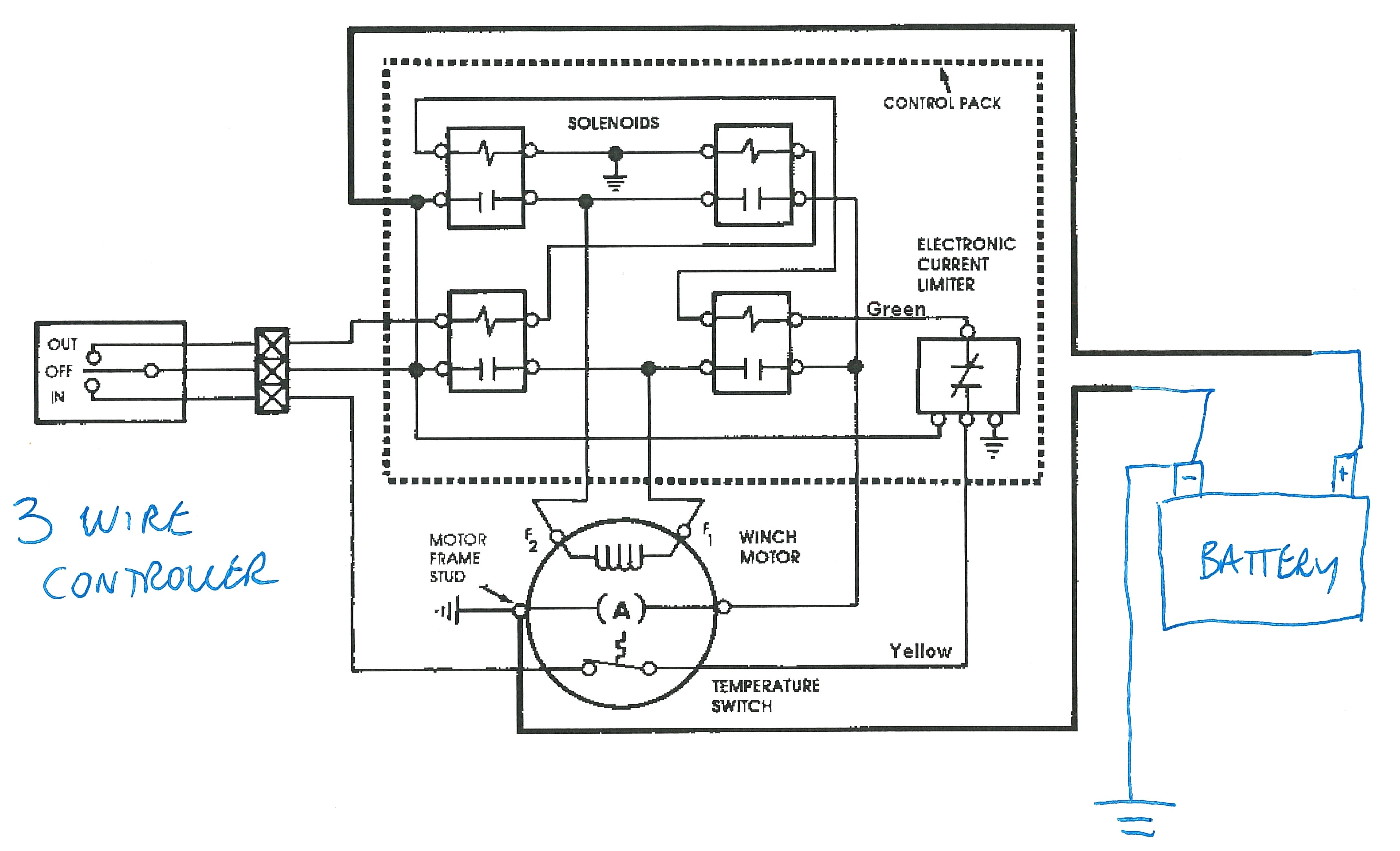 Ac Contactor Wiring Diagram Air Conditioner Schematic