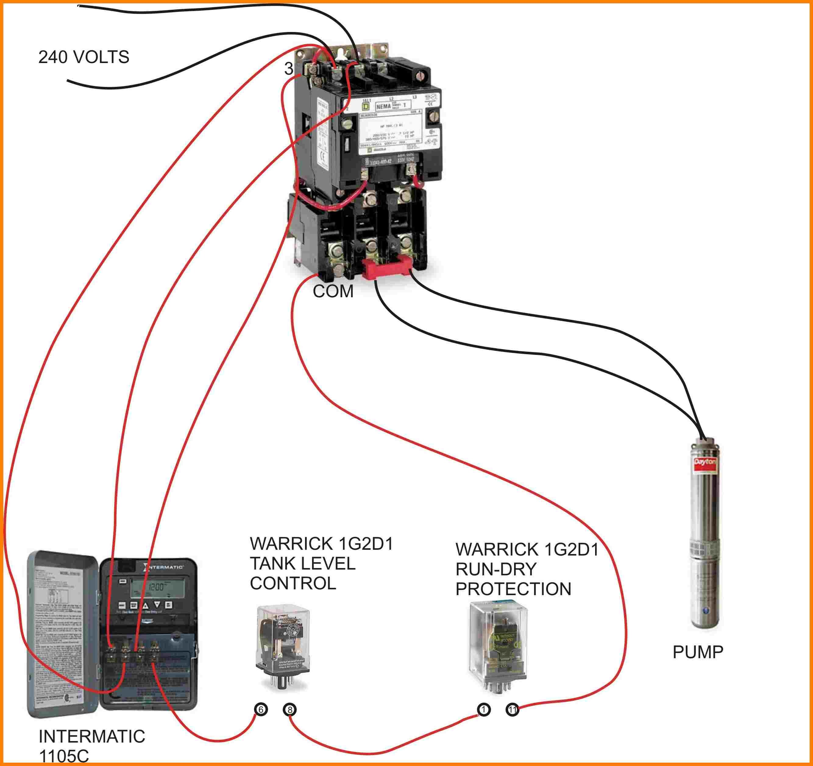 Contactor Relay Wiring Diagram | Wiring Schematic Diagram ... on