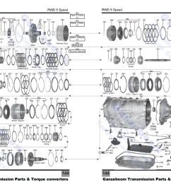 allison 1000 parts diagram 5l40e 2 of allison 1000 parts diagram ford aod transmission master rebuild [ 2568 x 1661 Pixel ]