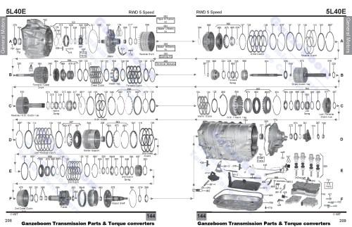 small resolution of allison 1000 parts diagram 5l40e 2 of allison 1000 parts diagram ford aod transmission master rebuild