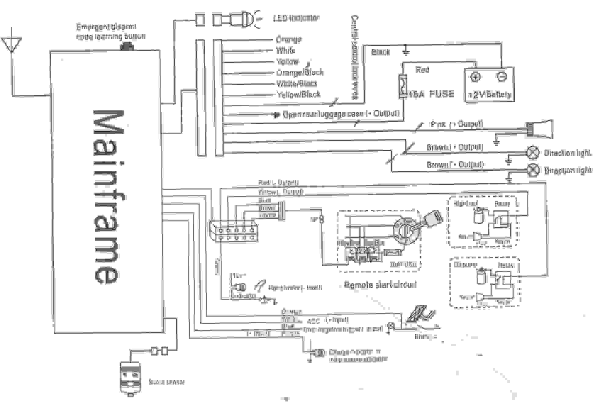hight resolution of  starter wiring diagram on audiovox wiring tech wiring liry on