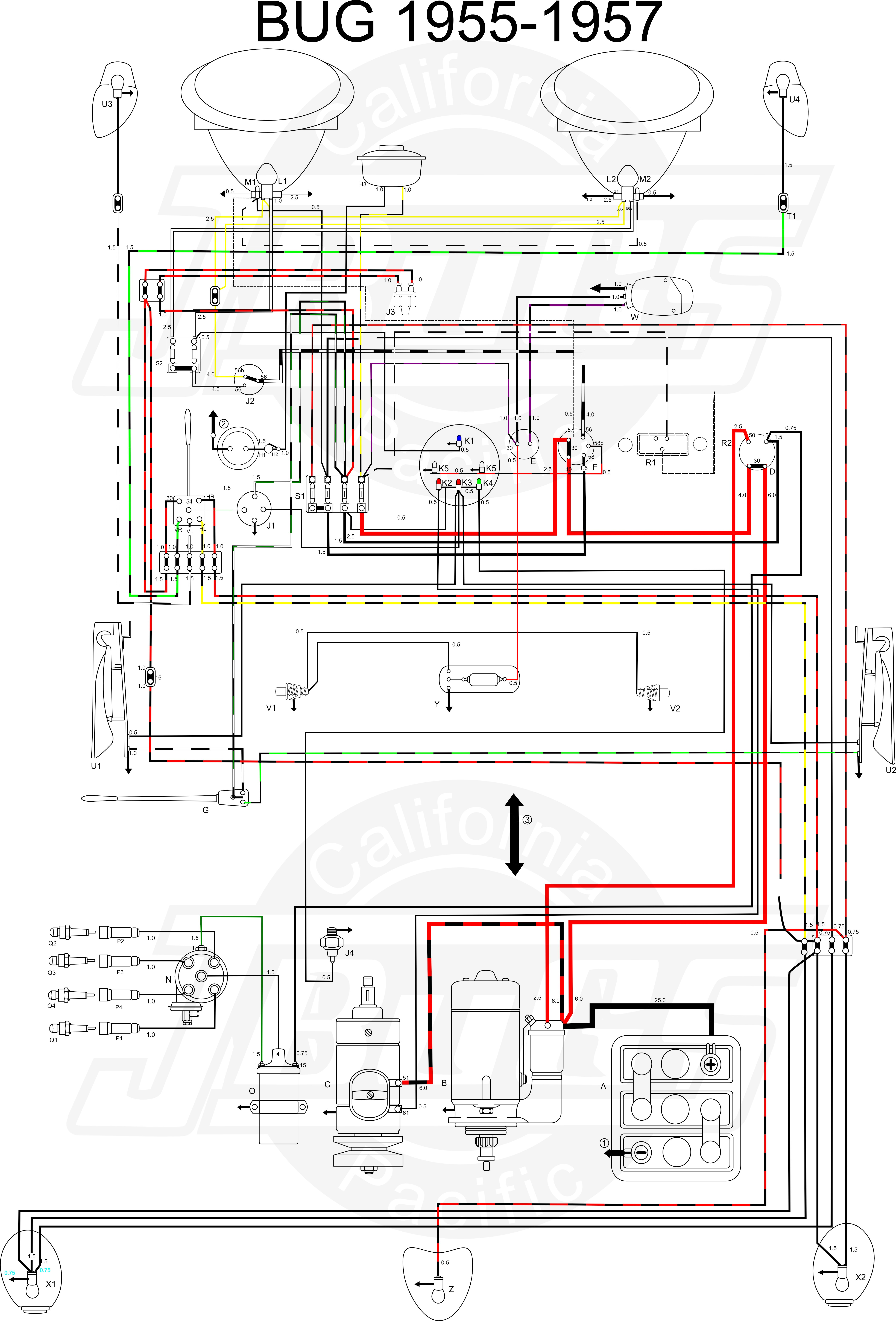 fuel gauge wiring diagram for vw trike auto electrical wiring rh 6weeks co uk
