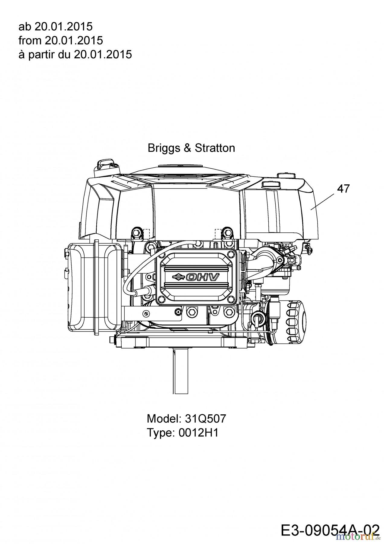 Briggs and Stratton 500 Series Engine Diagram Engine B&s