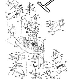 briggs and stratton lawn mower engine parts diagram western auto model ayp9187b89 lawn tractor genuine parts [ 2480 x 3507 Pixel ]