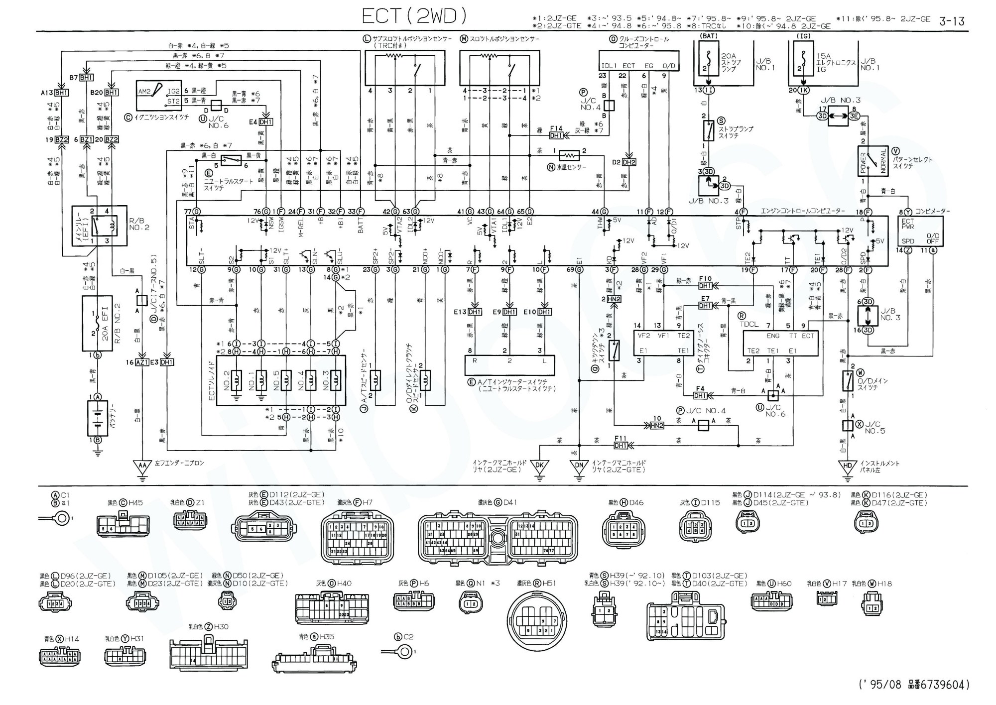hight resolution of 1994 toyota camry fuse box diagram