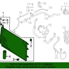 Car Air Conditioning Parts Diagram Intermatic Water Heater Timer Wiring Ac Volvo Oem 08 09 S60 Conditioner